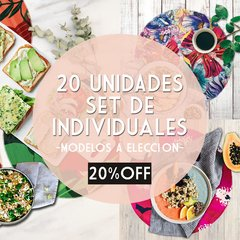 PACK 20 UNIDADES * INDIVIDUALES