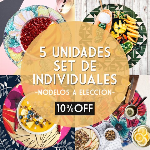 PACK 5 UNIDADES * INDIVIDUALES