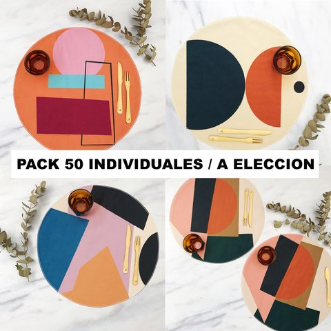 PACK 50 INDIVIDUALES