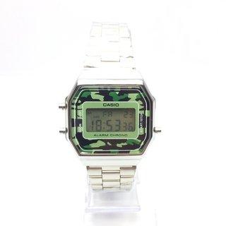 3a45e5c931f Relógio Casio Vintage Camuflado