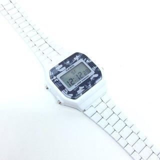 9764d0e8d56 Relógio Casio Vintage Camuflado Branco