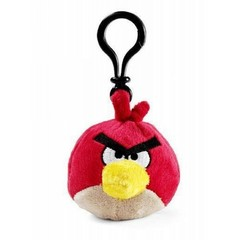 Chaveiro de Pelucia Angry Birds Space - Red Bird - Toyng