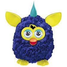 Pelúcia Interativa - Furby Cool Blue Yellow - Hasbro