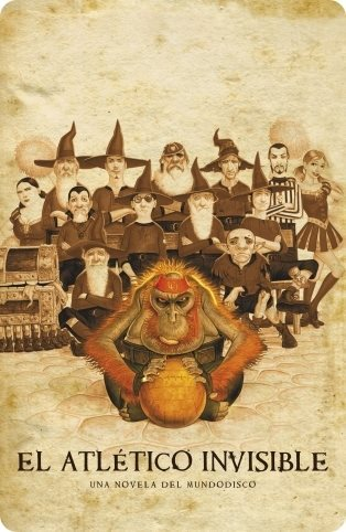 El Atletico invisible - Una novela Mundodisco de Terry Pratchett
