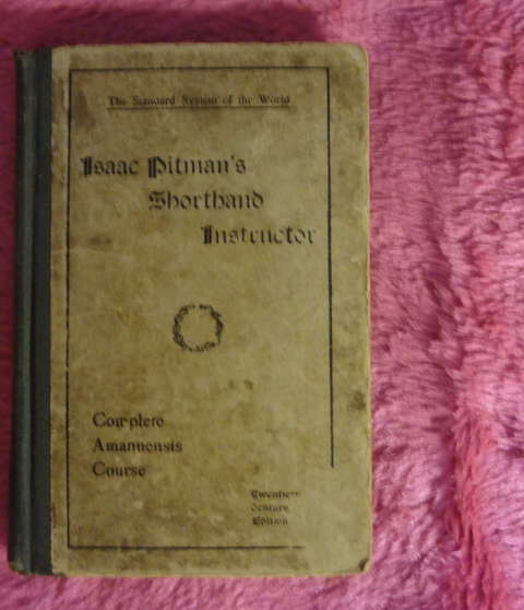 Isaac Pitman's shorthand instructor - Sistem of Phonography - Complete amanuensis course - 1903