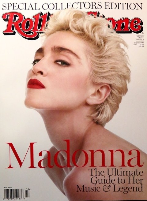 Madonna - Revista Rolling Stone Special Collectors Edition