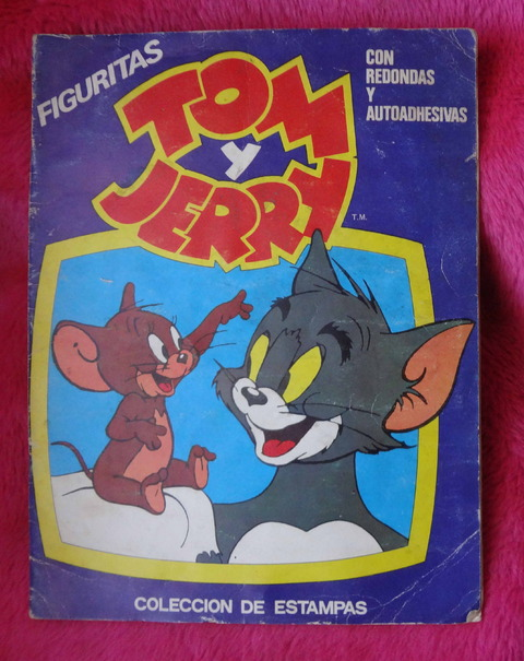 Album de Figuritas Tom y Jerry - Pop Festival