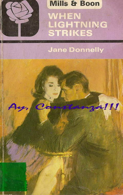 When Lightning Strikes by Jane Donnelly