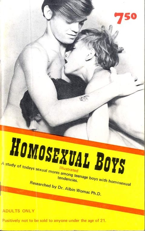Homosexual Boys - Researched by Dr. Albin Womac Ph. D.