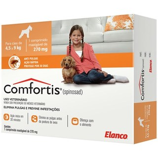 COMFORTIS 4,5 a 9Kg 270mg