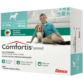 COMFORTIS 9 a 18Kg 560mg