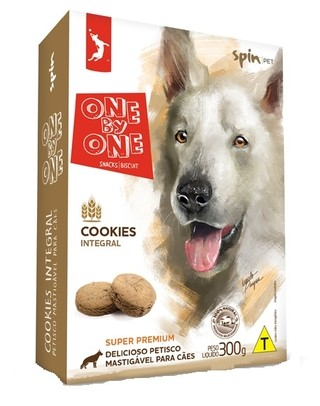 ONE BY ONE COOKIES INTEGRAL 300 g