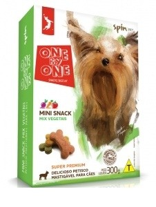 ONE BY ONE MINI SNACK MIX VEGETAIS 300 g