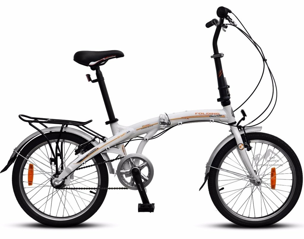 Bicicleta Plegable Aurora Folding Smart BK Rodado 20