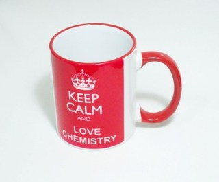 Caneca Keep Calm Chemistry