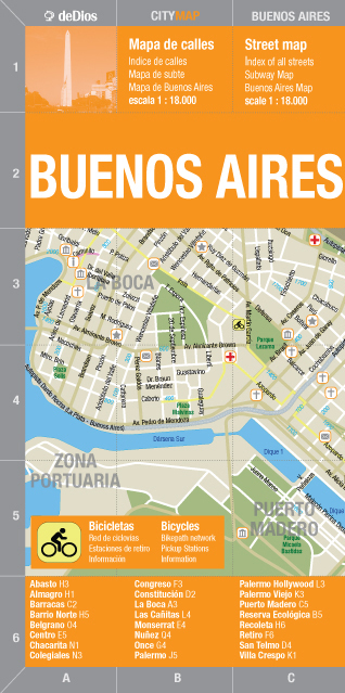 City Map Buenos Aires