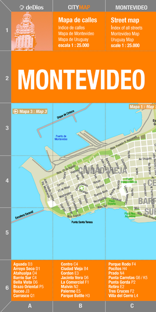 City Map Montevideo