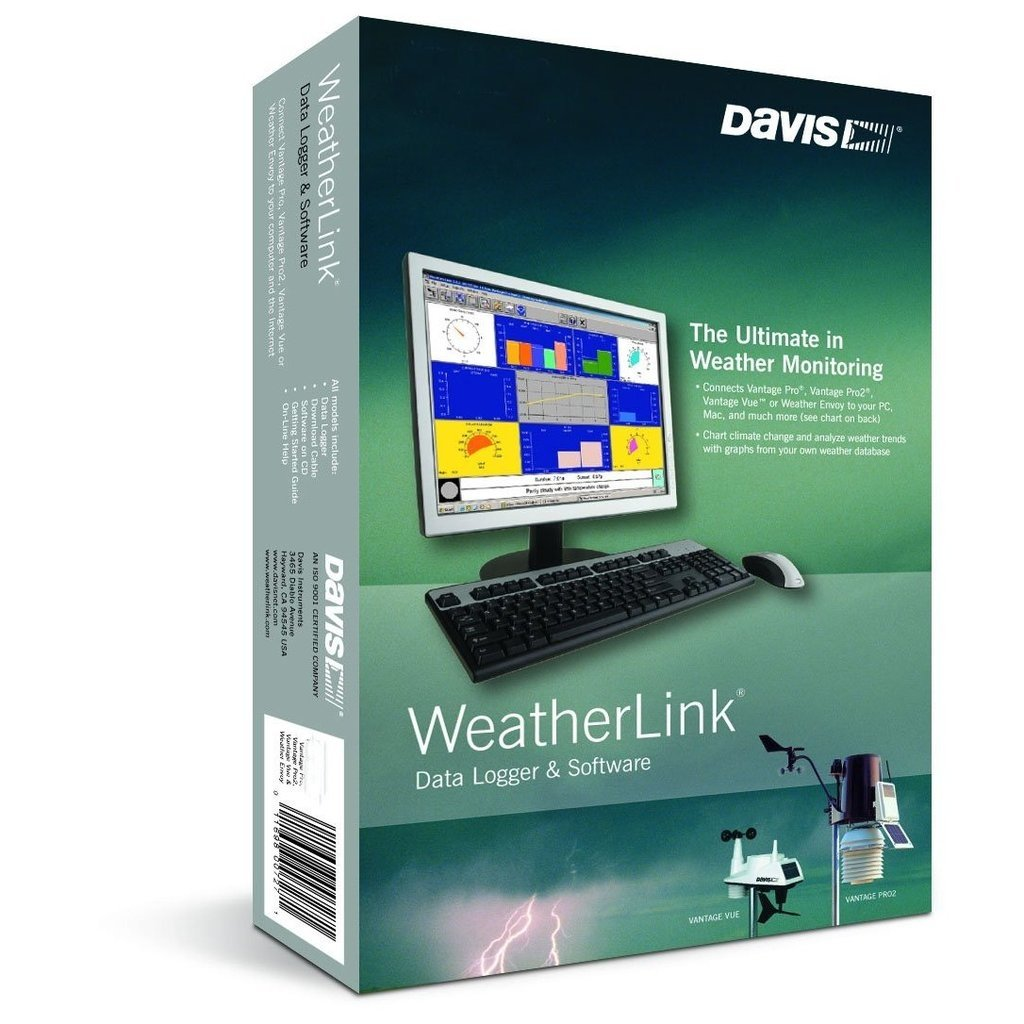 Software Weatherlink (Davis) - Conexão USB