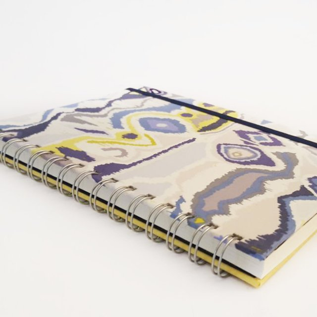 Libreta Animal Print in Blue - tienda online