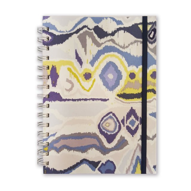 Libreta Animal Print in Blue - Florence Livres