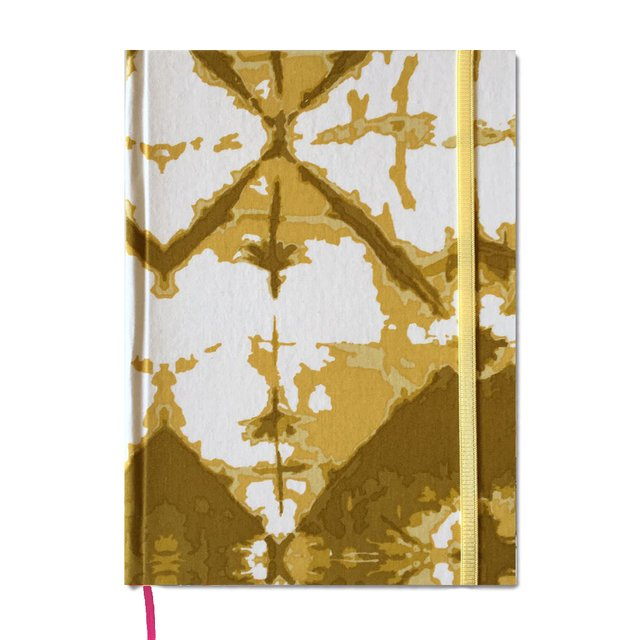 Notebook • Abstract Yellow