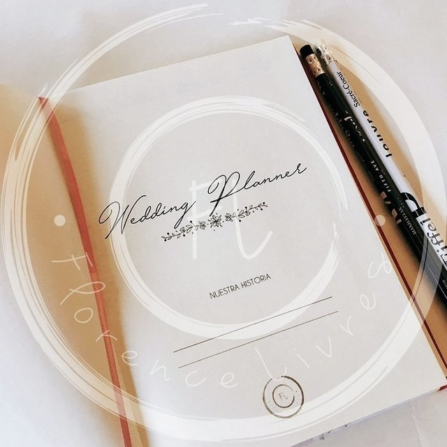 WEDDING JOURNAL • Orange - comprar online