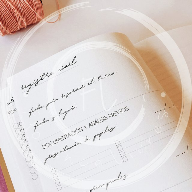 WEDDING JOURNAL • AMELIE - Florence Livres