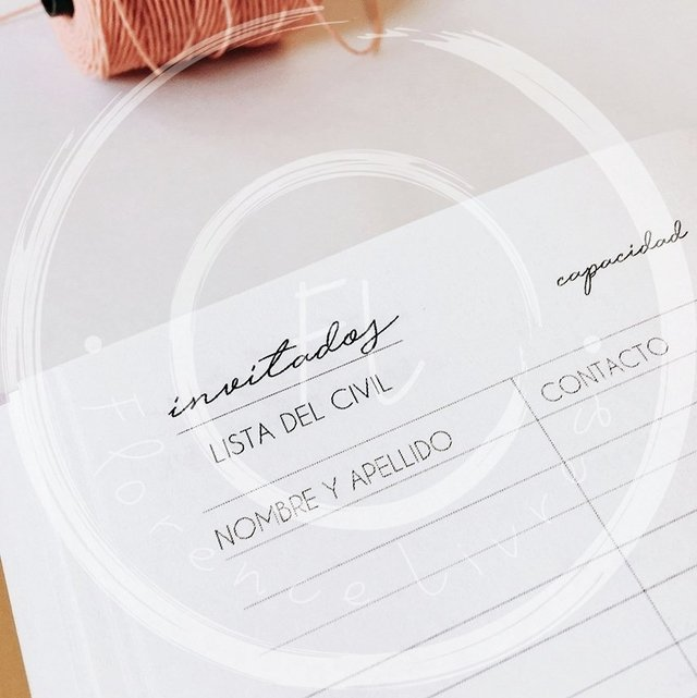 Imagen de WEDDING JOURNAL • CHEVRON