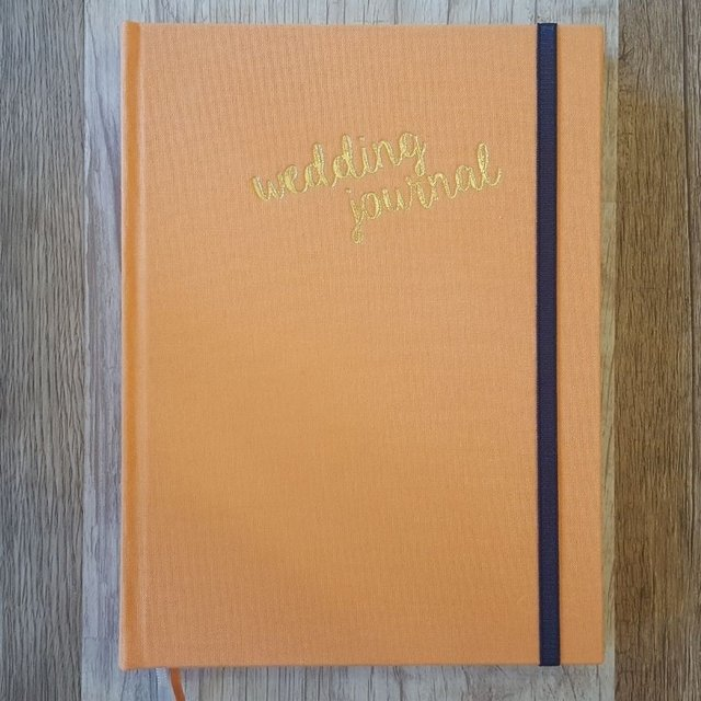WEDDING JOURNAL • Orange