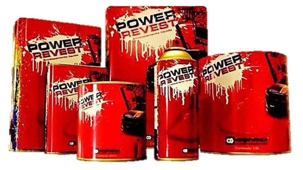 Envelopamento Líquido Preto Fosco 2 Galões de 3,6 Litros - Power Revest