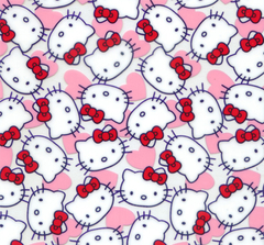 Película de Water Transfer Printing -Hello Kitty 50m x 2m