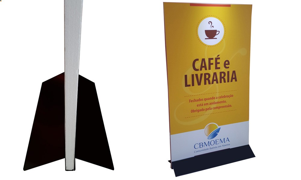 totem dupla face interno 0 80m x 1 60m tlpb80 loja do