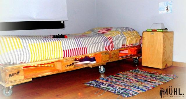 Cama simple una plaza comprar en muhl for Precio cama una plaza