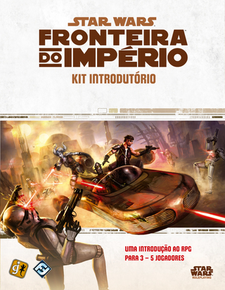 Star Wars Fronteira do Império RPG: Kit introdutório