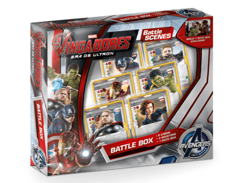 Marvel Battle Scenes: Battle Box - Vingadores Era de Ultron