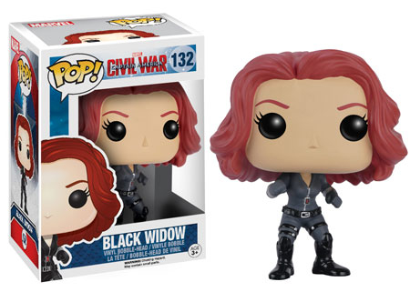 Guerra Civil: Black Widow Funko Pop - comprar online