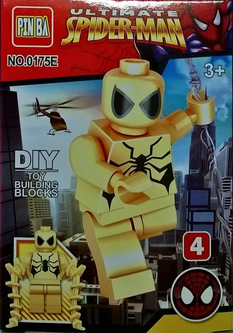 Blocos de Montar Spiderman no. 4 - comprar online