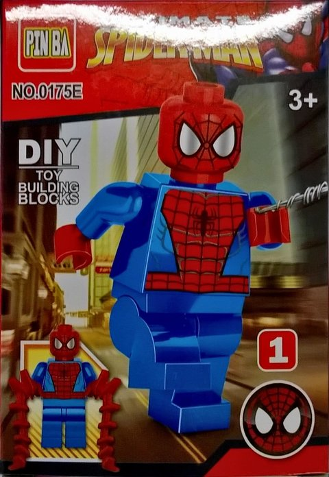 Blocos de Montar Spiderman no. 1 na internet