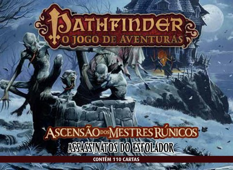 Pathfinder: Expansão Assassinatos do Esfolador Ascensão dos Mestres Runicos - comprar online