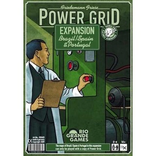 Combo Power Grid + Expansão - Rocky Raccoon