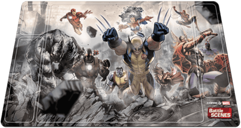 Marvel Battle Scenes: Playmat Emborrachado Oficial - comprar online