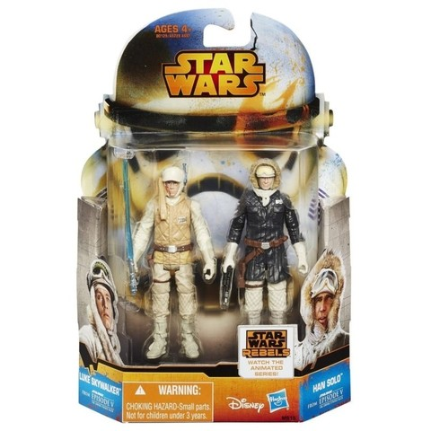 Star Wars: Luke Skywalker & Han Solo - comprar online
