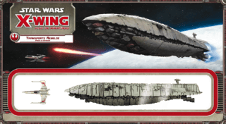 Star Wars X-Wing: Transporte Rebelde Expansão Jogo X-Wing na internet