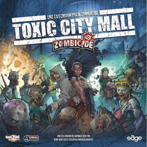 Zombicide: Toxic City Mall - comprar online