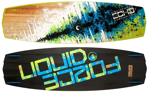 LIQUID FORCE TABLA KITE 1,44 ECHO 2015 COMPLETA || 100% GARANTIA EXCLUSIVO SECONDWIND