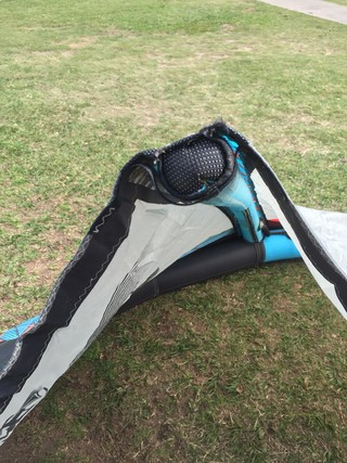 Envy Liquidforce 12mts 2015 con reparacion en tela,muy bueno cod 1200-9 - Second Wind Kite Shop