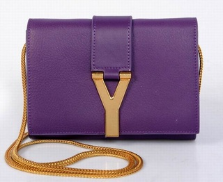 Bolsa Mini Chyc Shoulder Saint Laurent