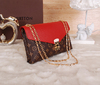 Clutch Pallas Chain Louis Vuitton - comprar online
