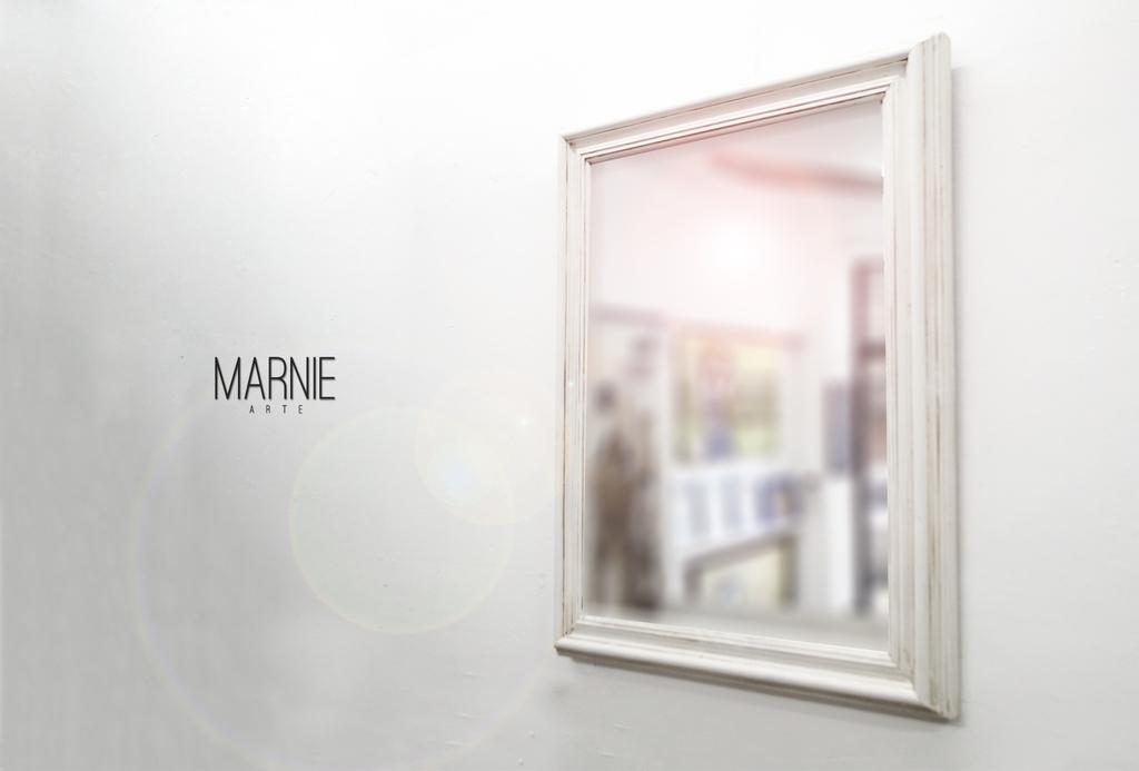 Vendido espejo con marco blanco patinado antiguo - Espejo marco blanco ...