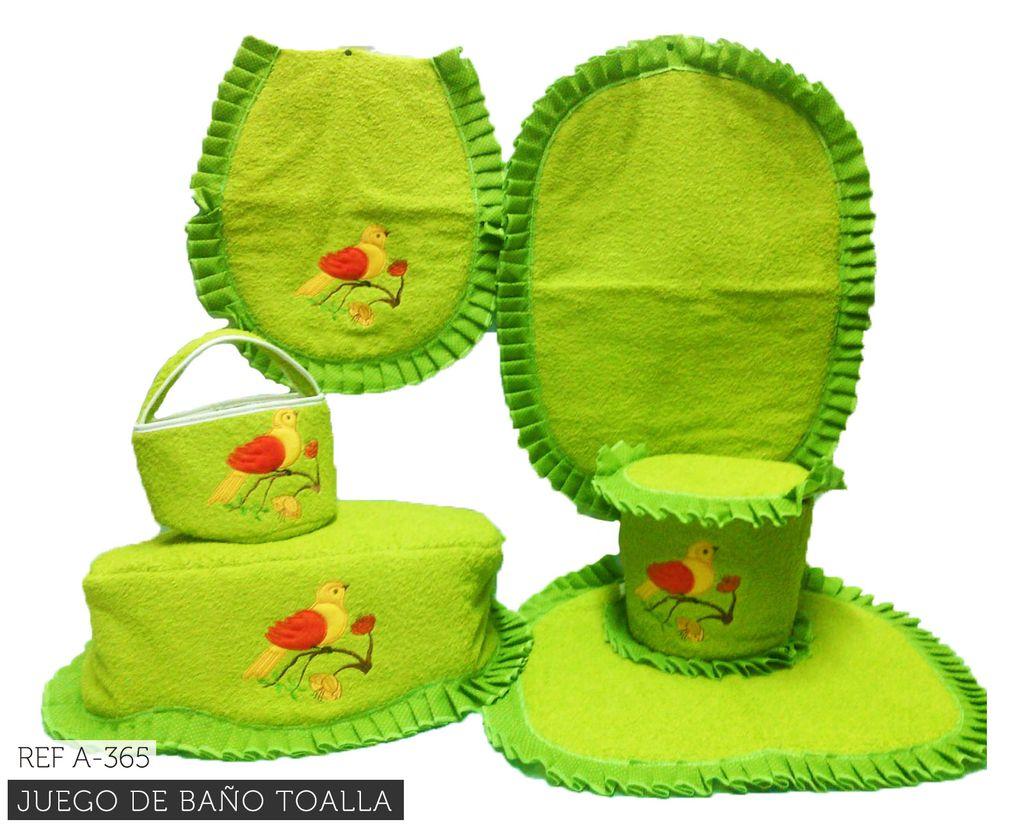 Juego de ba o toalla ref 365 for Juego de artefactos de bano